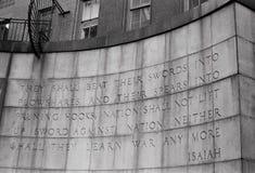 Isaiah Quote Imagens de Stock Royalty Free