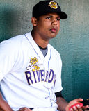 Isaias Tejada, Charleston RiverDogs Royalty Free Stock Image