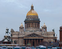 Isakievsky cathedral Stock Images