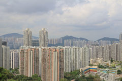 Isalnd of east of Quarry Bay, Tai Koo district Stock Photography