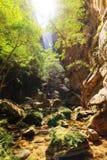 Isalo canyon light Stock Photography