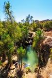 Isalo piscine Fotografia de Stock Royalty Free