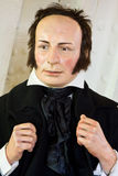 Isambard Kingdom Brunel. A wax model of the famous civil engineer Isambard Kingdom Brunel  (9 April 1806 – 15 September 1859) famed for his bridges and Royalty Free Stock Images