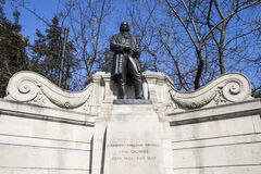 Isambard Kingdom Brunel Statue in London Royalty Free Stock Image