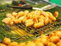 Isan Sausage Thai royalty free stock image