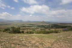 Isandlwana Battelfield, Kwazulu Natal, África do Sul Imagem de Stock