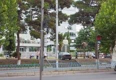 Isani历史的区在第比利斯 免版税库存照片