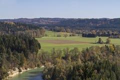 Isar κοιλάδα στοκ φωτογραφίες με δικαίωμα ελεύθερης χρήσης