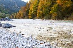 isar flod Royaltyfria Bilder