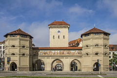 Isar Gate in Munich Royalty Free Stock Photos
