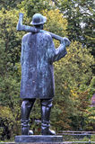 Isar Rafter statue, Munich Stock Photography