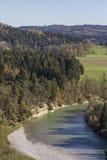 Isar valley Royalty Free Stock Photo