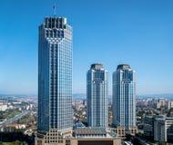 Isbank kwatery główne przy Levent Istanbuł Turcja Zdjęcie Royalty Free