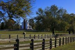 Isbell dom przy Appomattox Dworskiego domu parkiem narodowym Obraz Stock