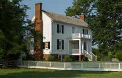 Isbellhuis - Appomattox-Hof Huis Stock Fotografie