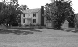 Isbellhuis - Appomattox-Hof Huis Stock Foto