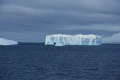 Isberg av paradisfjärden, Antarktis royaltyfria foton
