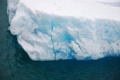 isberg för alaska fjärdglaciär Arkivbild