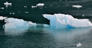 isberg för alaska fjärdglaciär Arkivfoton