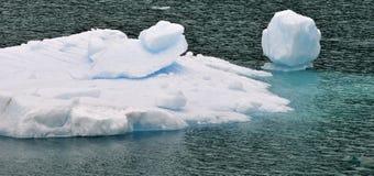 isberg för alaska fjärdglaciär Royaltyfria Foton