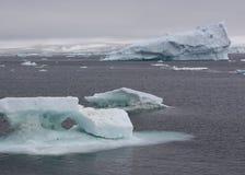 Isberg i Antarktis Arkivfoto