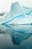 Isberg i Antartica Arkivfoto