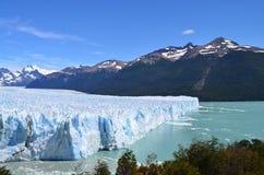 Isberg i Argentina nära El Calafate Royaltyfri Bild