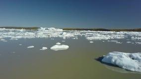 isberg iceland arkivfilmer