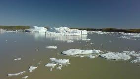 isberg iceland stock video