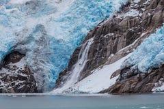 Isberg på Alaska Arkivfoton