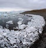 Isberg på glaciärlagun Royaltyfria Foton