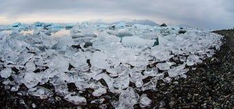 Isberg på glaciärlagun Royaltyfria Bilder