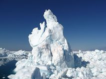 isbergliggande Royaltyfri Bild