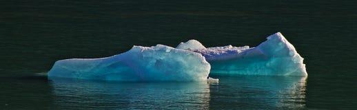 Isbildande nära den Mendelhall glaciären Royaltyfri Fotografi