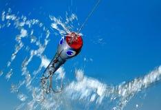 Isca de pesca Fotografia de Stock