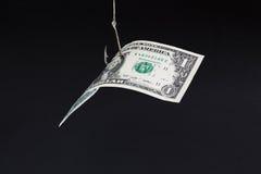 Isca do dinheiro Imagens de Stock Royalty Free
