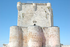 Iscar gothic Castle Royalty Free Stock Photo