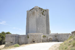 Iscar gothic Castle Stock Images