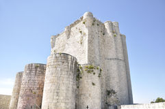 Iscar gothic Castle Royalty Free Stock Photos
