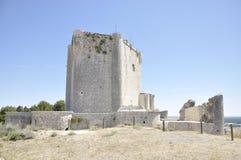 Iscar gothic Castle Royalty Free Stock Photos
