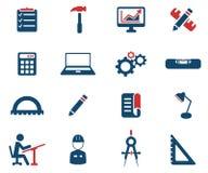 Iscensätta enkelt symboler Arkivbilder