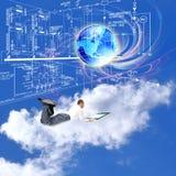 Iscensätta planläggande teknologier Royaltyfri Foto