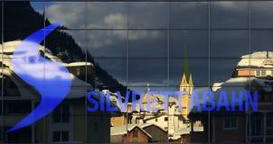 Ischgl, Silvretta Alpen,提洛尔,奥地利 免版税库存照片
