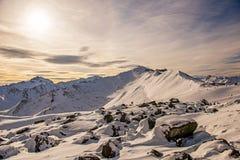 Ischgl Österrike Royaltyfri Foto