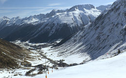 Ischgl - 5 Royalty Free Stock Photography