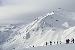 Ischgl ośrodek narciarski Fotografia Royalty Free
