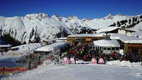 Ischgl Ski Resort, Silvretta Alps, Tirol, Austria stock image