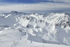 Ischgl Ski Resort Royalty Free Stock Images