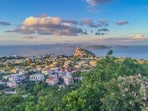 Ischia. è una delle bellissime isole del napoletano, come del resto tutto il sud Italia è altrettanto bello Royalty Free Stock Photos