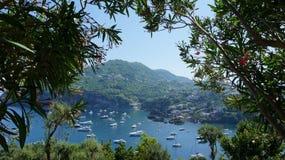 Ischia от замка Aragonese Стоковые Фото